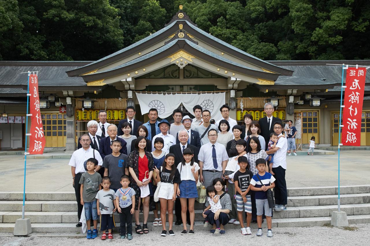 第1回 終戦記念日 護國神社参拝