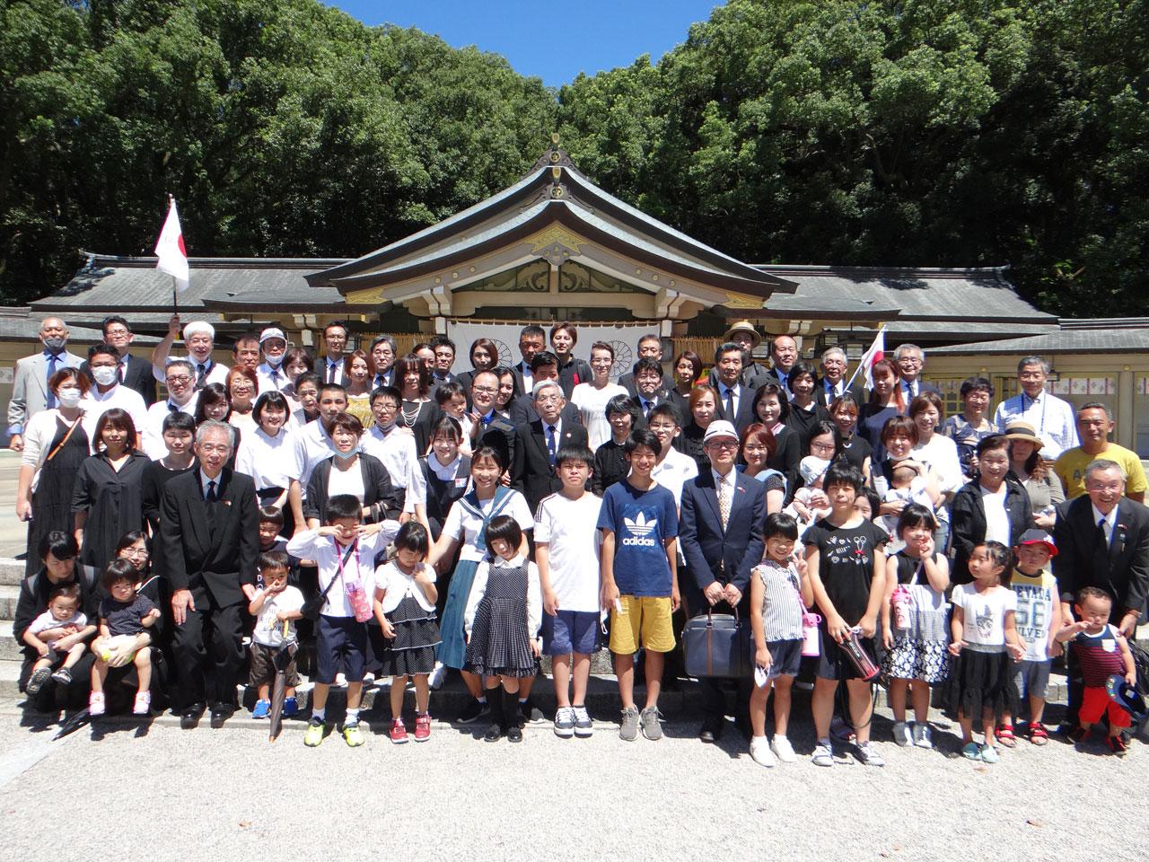 第4回 終戦記念日 護國神社参拝
